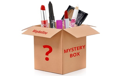 $19.95 for a 10Piece Maybelline Mystery Cosmetics Box Don't Pay $96.04