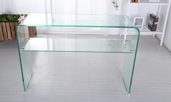 Odeon Glass Living Room Furniture Groupon Goods