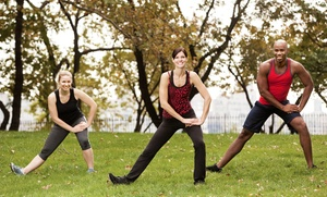 Muscle Rock Fitness: One or Two Months of Unlimited Outdoor Fitness Classes at Muscle Rock Fitness (Up to 78% Off)