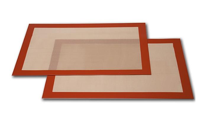 Silicone Fibreglass Baking Sheet Groupon Goods