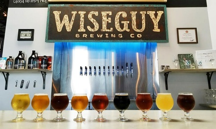 Brewery Tasting for Two or Four at Wiseguy Brewing Company