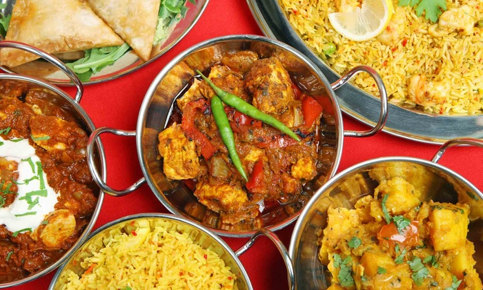 Indian Aroma - Maplewood - Oakdale: Indian Dinner for Two or Four or Lunch Buffet for Two at Indian Aroma (Up to 51% Off)