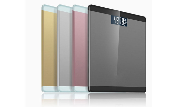 Three-in-One Metallic Digital Body Scale from £9.98 (37% OFF)
