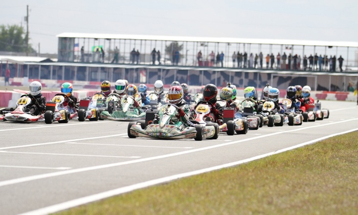 Orlando Kart Center - Orlando: Three or Six 10-Minute Go-Kart Races at Orlando Kart Center (Up to 46% Off)