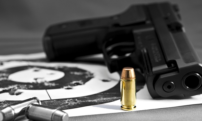 Riverside Indoor Shooting Range - Riverside: $40 for Range Time for Two People with 25 Rounds Each at Riverside Indoor Shooting Range ($75 Value)