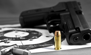 Riverside Indoor Shooting Range: $40 for Range Time for Two People with 25 Rounds Each at Riverside Indoor Shooting Range ($75 Value)