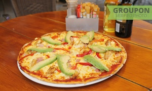 Café Santé: Choice of a Pizza or Pasta Each from R99 for Two at Café Santé (50% Off)