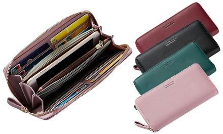 Classic Women's Clutch Wallet