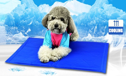 Cooling Pet Mat in a Choice of Size: One .95 or Two Don't Pay up to $218