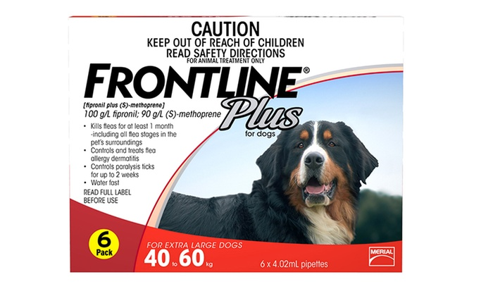 Frontline Plus is a fast-acting flea and tick preventative, killing all fleas on your dog in 12 hours and stopping infestations for a month. SALE: $/3 Mo.