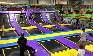 Awezone Trampoline Park: Trampoline Pass: One ($8) or Two Hours ($15) at Awezone Trampoline Park (Up to $22 Value)
