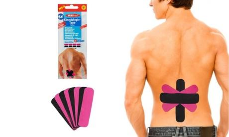 Set de 8 o 16 parches de kinesiología para la espalda y el lumbago