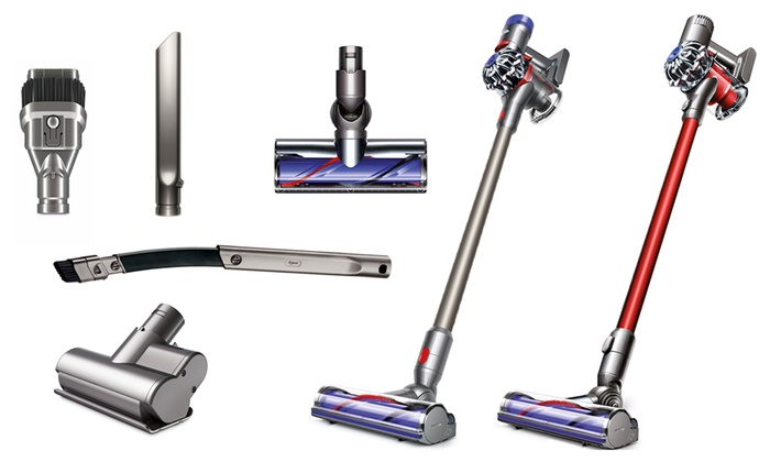 Image of: Bagless Stick Dyson V6 V7 Or V8 Animal Cordfree Stick Vacuum refurbished Groupon Up To 48 Off On Dyson V6v7v8 Animal Vacuum Groupon Goods