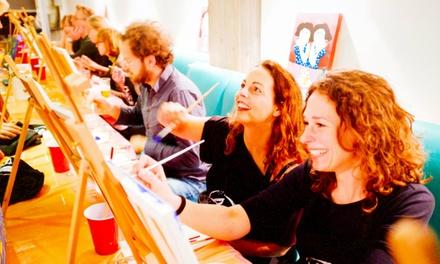 ArtPub: maak je eigen schilderij tijdens een schilderworkshop naar keuze in een van de deelnemende café's in Nederland