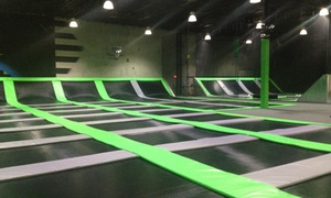 Up to 51% Off Jump Passes or Party at GravityPark at GravityPark, plus 6.0% Cash Back from Ebates.