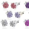 Stud Earrings with Swarovski Crystal