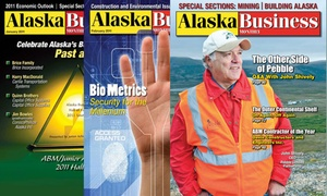 """Alaska Business Monthly: One- or Two-Year Print Subscription to """"Alaska Business Monthly"""" (Up to 63% Off)"""