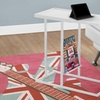 Accent Table with Magazine Rack