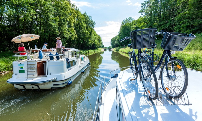 Houseboat Holiday: 7-Night Self-Drive Boat Hire in Europe