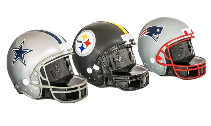c7af8622202a56 Up To 29% Off on NFL Helmet Bluetooth Speaker | Groupon Goods