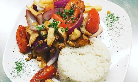 Peruvian Cuisine at The Inkan Restaurant & Pisco Bar (Up to 43% Off). Two Options Available.