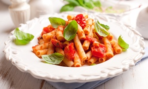aBARcrombys: Italian Main with a Pint of Beer or Glass of Wine for Two or Four at aBARcrombys (Up to 56% Off)