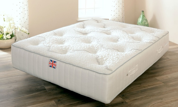Geneve Wool and Memory Foam-Filled Mattress in Choice of Size from £165