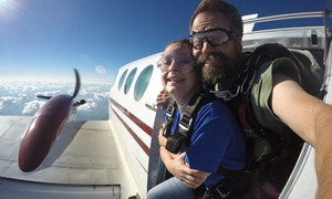 Up to 33% Off Tandem Skydiving Jump at Skydive the Rock at Skydive the Rock, plus 6.0% Cash Back from Ebates.