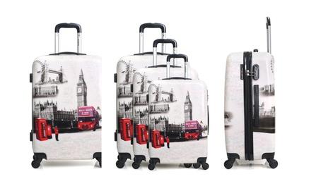 Valise seule ou set 3 valises en ABS et PC