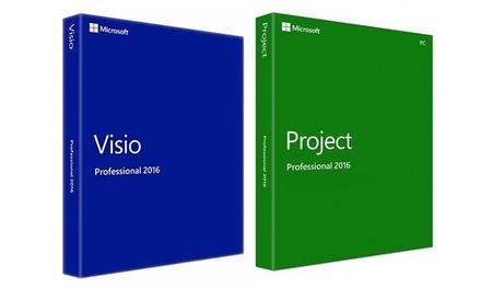 MS Visio Pro oder MS Project Pro  (Statt: 739,00 € Jetzt: 119,95 €)