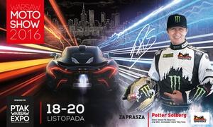 Warsaw Moto Show 2016 & Oldtimer Warsaw 2016: Od 29,90 zł: bilety dla 2-4 osób na targi Warsaw Moto Show 2016 & Oldtimer Warsaw 2016 w Ptak Warsaw Expo (do -38%)