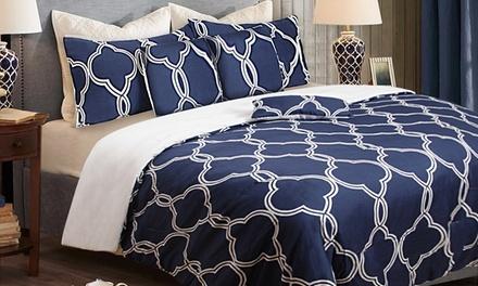 $39 for a SixPiece Queen Bedroom Comforter Set