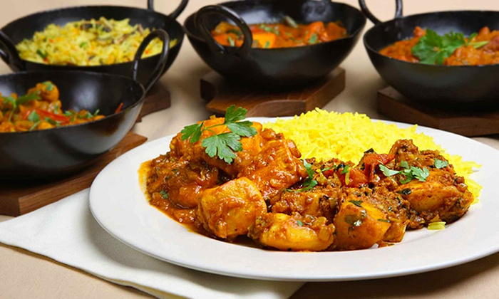 Chutney - Nottingham: Three-Course Indian With Drinks For Two or Four from £20 at Chutney (Up to 58% Off)
