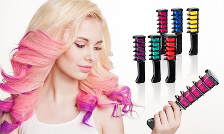 One, Two or Four SixPiece Hair Chalk Comb Sets