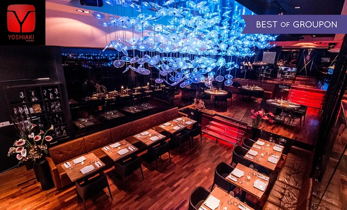 Yoshiaki by DSTRKT: 2 AA-Rosette Pan-Asian Dining Experience with a Champagne Cocktail for Up to Six (Up to 60% Off)