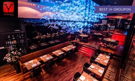 DSTRKT Restaurant: 2 AA-Rosette Pan-Asian Dining Experience with a Sparkling Cocktail for Up to Six (Up to 60% Off)