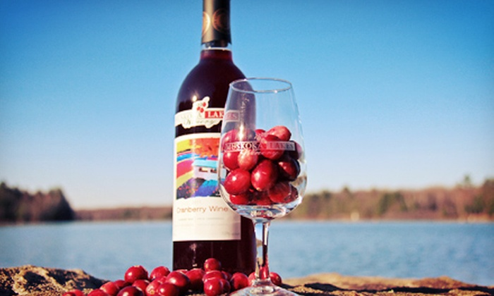 Johnston's Cranberry Marsh - Bala: Guided Tour and Wine Tasting for Two with Optional Treasure Hunt at Johnston's Cranberry Marsh (Up to 55% Off)