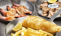 Ocean Basket: Three-Course Experience for Two for R185 - Various Branches