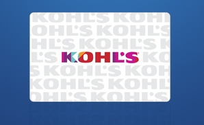 Buy One $10 Kohl's eGift Card, Get a $10 Kohl's Bonus at Kohl's, plus 6.0% Cash Back from Ebates.