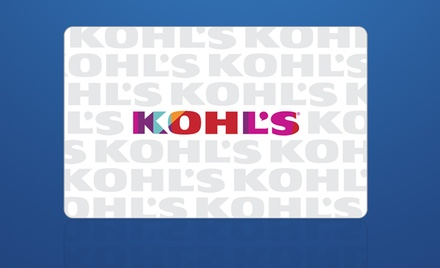 $10 for $20 Kohl's eGift Card
