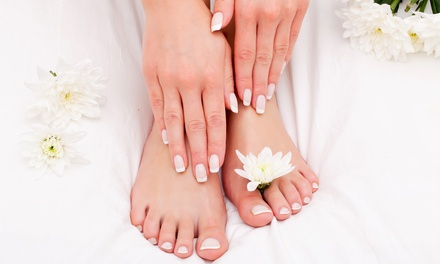 One or Two Mani-Pedis, or a Gel Manicure with Pedicure at Carie's Place (Up to 56% Off)