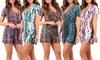 Women's Short Sleeve Rompers: Women's Short Sleeve Rompers