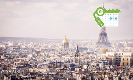 París: habitación doble para 2 personas con desayuno y crucero por el Sena en el hotel Opera Vivaldi