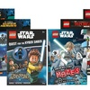 Two Lego Books with Minifigures