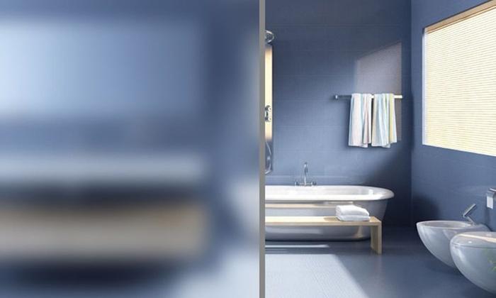jusqu 39 42 film adh sif opaque pour vitres groupon. Black Bedroom Furniture Sets. Home Design Ideas