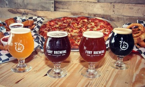 Up to 50% Off Flights of Beer at Fury Brewing Company at Fury Brewing Company, plus 6.0% Cash Back from Ebates.