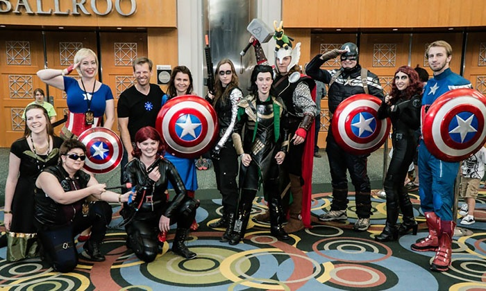Salt Lake Comic Con - Salt Lake City: One- or Two-Day Admission for One to Salt Lake Comic Con, March 24-25 (Up to 57% Off)