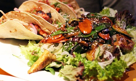 Taco or Burrito with Beer for Two or Four at Lust and Liquor, Two Locations
