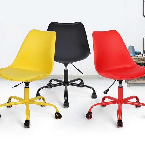 Chaise Style Et En De Ajustables Scandinave Roulettes Bureau À Hauteur nOk8wP0X