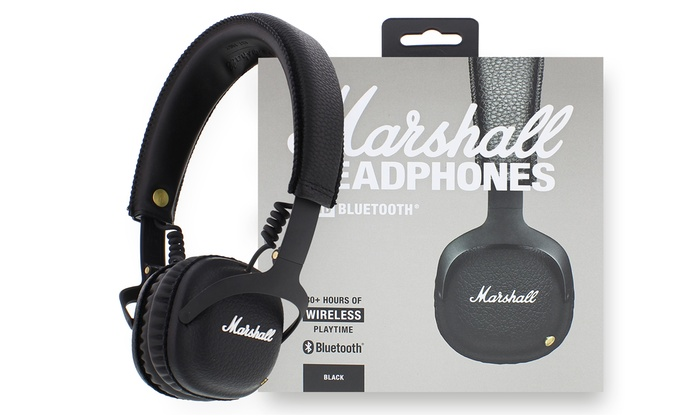 Marshall Mid Bluetooth Headphones Groupon